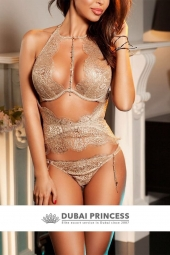 Upscale Dubai escorts Anna, high end Brazilian models companion