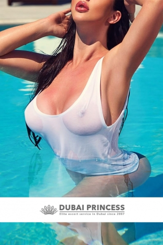 Top models escort Dubai Anastasia, luxury expensive private companion