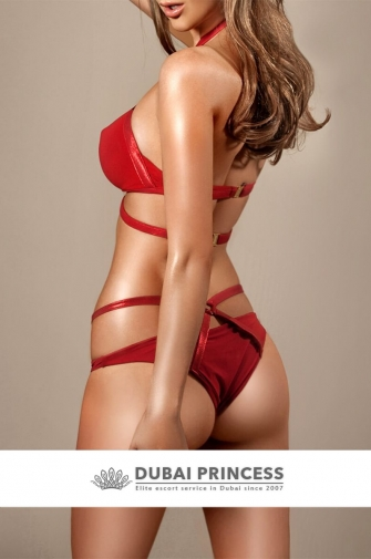 Dubai exclusive escort Larissa, luxury GFE lady