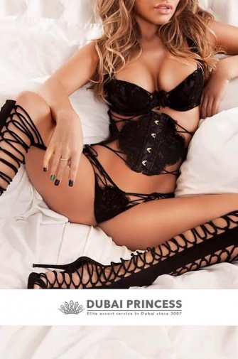 High end Dubai escort Monica, luxury busty GFE companion