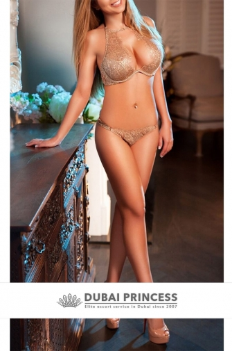 High end escort Dubai Sabina, elite blonde private companion